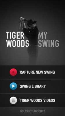 tiger woods app 1 5 ứng dụng phân tích swing hay nhất trên điện thoại để đánh Golf